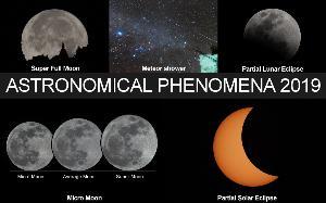 ปรากฏการณ์ดาราศาสตร์ที่น่าถ่ายภาพในปี 2019