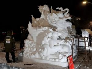 ทีมแกะสลักหิมะชิงแชมป์โลกของไทย ต้องกินข้าวคากองหิมะ แต่มั่นใจต้องชนะ!
