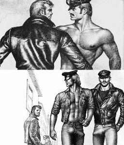 มัดกล้าม, แจ็กเก็ตหนัง และเกย์ไอคอนร่วมสมัยในหนัง