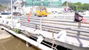 """แขวงทางหลวงเชียงใหม่ที่ 2 เตรียมทุบสะพาน """"เซนติเมตร"""" สร้างใหม่ 3 เดือน"""