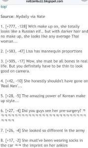 """ดรามาแรงแอนตีแฟนเกาหลีว่า """"ลิซ่า BlackPink"""" ถ้าลบหน้าก็ไม่ต่างจากคนไทยทั่วไป จนแฟนคลับเดือด"""