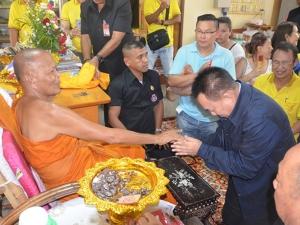 """""""ภาณุ"""" นำชาวไทยพุทธ-มุสลิม ร่วมพิธีฉลองอายุวัฒนมงคล """"พระเทพศีลวิสุทธิ์"""" ครบ 81 ปี"""