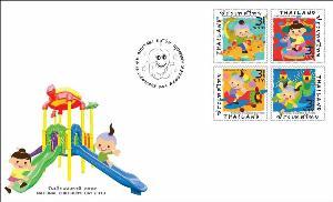 """ไปรษณีย์ไทยเปิดตัวแสตมป์ """"แสนสนุกสุขสันต์วันเด็ก"""""""