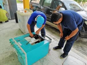 ก.แรงงาน ระดมช่างฝีมือซ่อมแซมอุปกรณ์ บ้านเรือนหลังวิกฤตพายุปาบึก