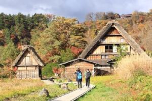 เส้นทางเดินเที่ยวชมหมู่บ้านมรดกโลก ชิราคาวาโกะ