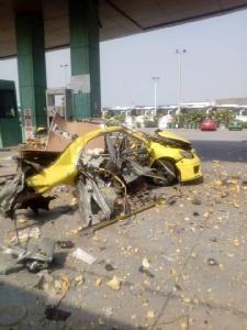 คาปั๊ม! รถแท็กซี่ระเบิดขณะเติม NGV มีผู้บาดเจ็บ 3 ราย
