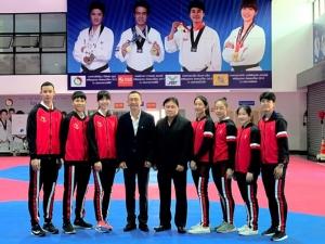 """""""หาดทิพย์"""" ทุ่ม 10.5 ล้าน หนุนนักกีฬา """"เทควันโด"""" ทีมชาติไทยไปโอลิมปิก 2020 ที่ญี่ปุ่น"""