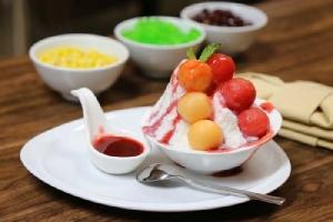 """อร่อยหวานเย็นชื่นใจ กับ """"บิงซู"""" ที่ห้องอาหารญี่ปุ่นไดอิจิ"""