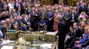 วุ่นแน่!!รัฐสภาอังกฤษลงคะแนนท่วมท้นปฏิเสธข้อตกลงเบร็กซิต