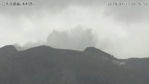 ภูเขาไฟปะทุบนเกาะทางใต้ของญี่ปุ่น-ยังไม่มีคำเตือนอพยพ
