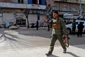 """In Pics: สหรัฐฯเสียทหาร-พลเรือน 4  กองกำลังบาดเจ็บอีก 3 หนักสุดตั้งแต่ส่งเข้าซีเรีย IS ประกาศรับผิดชอบโจมตี """"มานบิจ"""""""