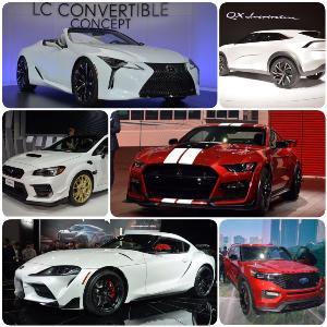 ชมรถใหม่ งาน Detroit Auto Show 2019 (1)