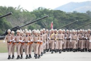 กองทัพเรือกระทำสัตย์ปฏิญาณตนต่อธงชัยเฉลิมพล เนื่องในวันกองทัพไทย