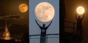 พร้อมถ่ายภาพ Super Moon 3 เดือนติดกัน ในคืนวันพระจันทร์เต็มดวง