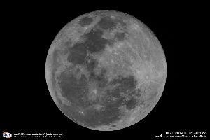 """สดร. เผยภาพ """"ดวงจันทร์เต็มดวงใกล้โลก"""""""