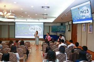 ชี้เป็นเรื่องดีที่ไทยมีดัชนีคุณภาพอากาศ PM2.5