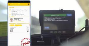 """ไม่ใช่ """"โมบายล์ทูโมบาย"""" แต่ HaHa Taxi App เชื่อมมือถือเข้า """"มิเตอร์ดิจิทัล"""" บนรถ"""