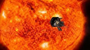 ยานอวกาศ PSP กำลังสำรวจบรรยากาศของดวงอาทิตย์