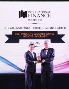 ทิพยประกันภัย รับรางวัล Most Innovative Customer Service Initiative