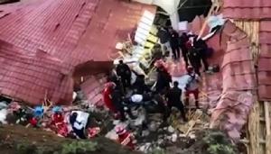 สุดสะพรึง! โรงแรมเปรูเจอดินถล่ม หลังคาพังทับแขกงานแต่งดับ 15 ศพ-เจ็บอื้อ