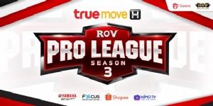"""RoV Pro League Season 3"" เริ่มเปิดศึกแล้ววันนี้!"