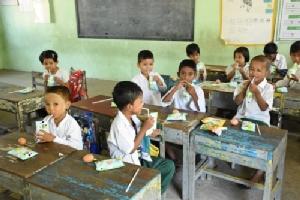 """ซี.พี. เมียนมา ดำเนินโครงการ """"Milk for Kids"""" เพื่อสุขภาพที่ดีต่อเนื่องปีที่ 3"""