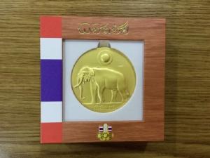 """สวยน่าเก็บ """"เหรียญพิชิตชัย"""" ปลุกใจนักกีฬาไทยสู้ศึกโอลิมปิก 2020"""