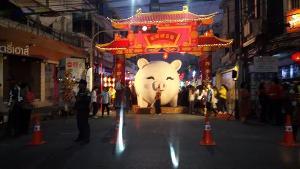 แดงทั้งเมือง! ตรุษจีนปากน้ำโพ 103 ปีเริ่มแล้วอย่างยิ่งใหญ่ 12 วัน 12 คืน