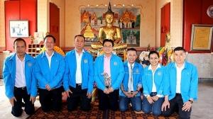 เอาฤกษ์เอาชัย พรรคประชาธิปัตย์ไหว้พระ 4 มุมเมืองราชบุรี เป็นพระพุทธรูป 1 ใน 4 องค์ของประเทศ