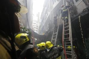 ควันลอยฟุ้ง! ไฟไหม้บ้านอาคาร 4 ชั้น ซ.เท็กซัส ล่าสุดเพลิงสงบ
