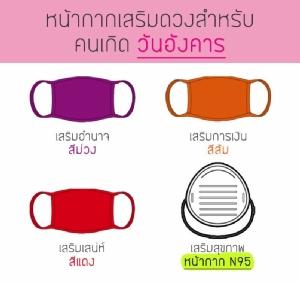 หน้ากากอนามัยเสริมดวงวันเกิด เอาใจคนไทย หวังให้หันมาป้องกันตัวเอง