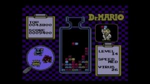 เกม Dr. Mario ต้นฉบับของเก่า (ภาพจาก Nintendo)