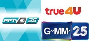 ศึก 3 ช่องชิง Top 10 PPTV – Gmm 25 – True 4 U