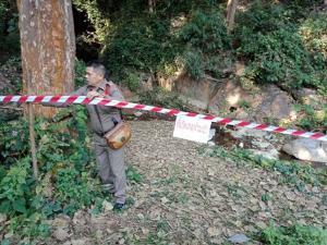 ตร.ปิดถ้ำท่อลำพูน เร่งคลี่คดีพบศพปริศนาห่มเหลืองใส่ถุงดำ แต่ยังมืดแปดด้าน