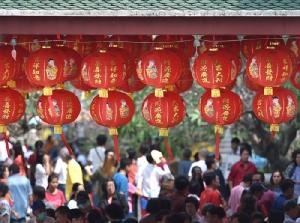 ตรุษจีนทุก ๆ ปี จะมีนักท่องเที่ยวจีนหลั่งไหลมาเที่ยวเมืองไทยเป็นจำนวนมาก