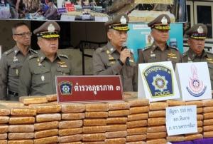 ตำรวจภาค 3 รวบแก๊งยานรกรายสำคัญ ยึดยาบ้าอื้อกว่า 7.6 แสนเม็ด กัญชาอีก 500 กิโลฯ