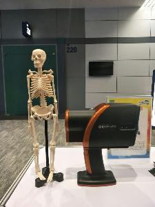 จำลองการทำงานของเครื่องวัดความหนาแน่นของกระดูกแบบพกพา