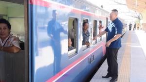 """(ภาพชุด) เปิดใช้แน่ 5 สถานีรถไฟทางคู่จิระ-ขอนแก่น ภายใน เม.ย.นี้ """"ลุงตู่"""" เปิดสถานีขอนแก่นเองกลาง มี.ค. 62"""