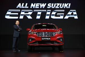 """ซูซูกิ วางเป้า 33,000 คัน ส่งรถใหม่ 3 รุ่น """"เออร์ทิกา"""" ประเดิม"""