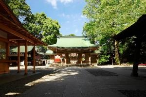 ศาลเจ้าคาวาโกเอะฮิคาวะ (ภาพ : JNTO โดย KAWAGOE HIKAWA JINJA)