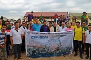 ซีพีเอฟ ฟิลิปปินส์ ร่วมกับสถานทูตไทย ช่วยเหลือชาวฟิลิปปินส์ประสบอัคคีภัย