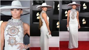 Jennifer Lopez กับเดรสจาก Ralph & Russo