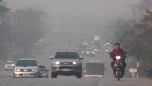 """""""ลำปาง"""" จ่อประกาศปิดป่าแก้หมอกควัน หลังฝุ่นพิษพุ่ง-PM 2.5 เกินเกณฑ์ทั้ง """"แม่เมาะ-ตัวเมือง"""""""