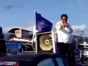 จ่อฟ้อง กกต. ผู้สมัคร ปชป.เขต 8 นครศรีฯชี้รถหาเสียงคู่แข่งขับกวนปราศรัย