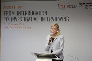 """TIJ จับมือตำรวจนอร์เวย์-DSI ยกระดับกระบวนการยุติธรรม ด้วย know-how """"ซักถามเพื่อทำความจริงให้ปรากฏ"""""""
