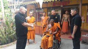 ป.รวบเจ้าอาวาสวัดในสุพรรณบุรี หนีคดีพยายามฆ่ามาบวชนาน 15 ปี