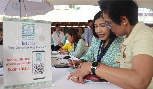 SME D Bank ดูแลผู้ค้าตลาดนัดจตุจักรด้วยใจ ตั้งโต๊ะบริการสินเชื่อดอกเบี้ยถูกถึงถิ่น