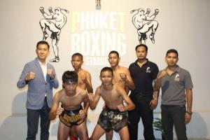 """เปิดแล้ว! โชว์ศิลปะมวยไทยแห่งใหม่บนเกาะภูเก็ต """"Phuket Boxing Stadium"""""""