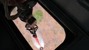 ทหารส่ง ฮ.เสริมอีก 2 ลำ บินขนน้ำดับไฟป่าดอยพระบาท-ดอยม่วงคำลำปาง คาดดับหมดวันนี้