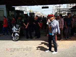 กลุ่มวิน จยย.รับจ้างรวมตัวปิดทางเข้าออกพรมแดนไทย-มาเลเซีย